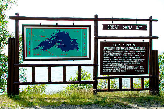 Devinder Sangha - Sign for Great Sand Bay