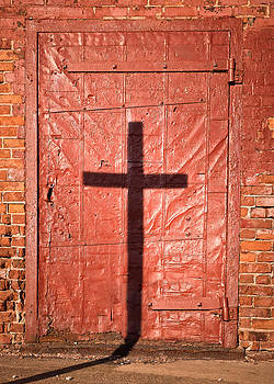 Chris Bordeleau - Sign on a Red Iron Door