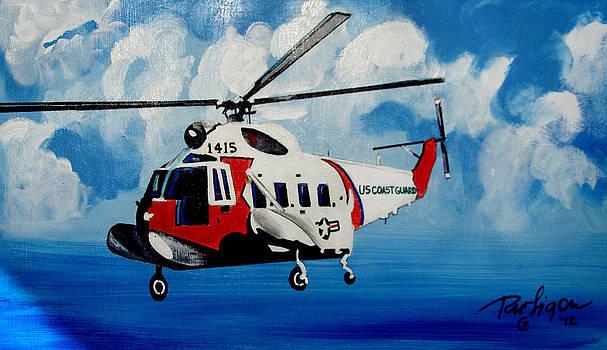 Sikorsky HH 52A by Wayne  Ligon