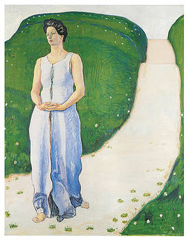 Ferdinand Hodler - Silence of the Evening