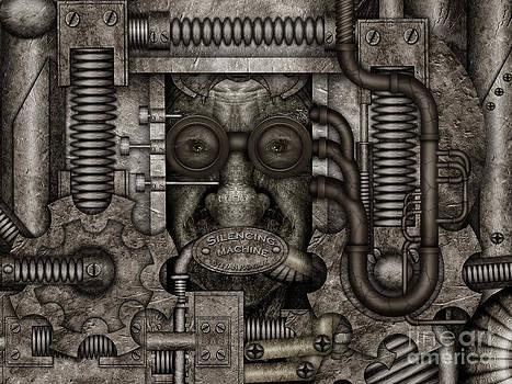Silencing machine by Ivan  Pawluk