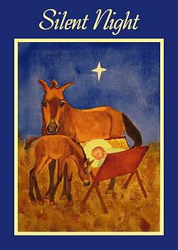Ruth Soller - Silent Night card