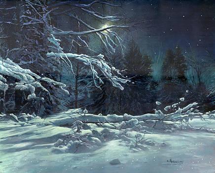 Silent night by Victor Mordasov