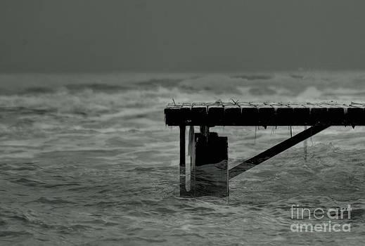 Peaceful Pier by Erhan OZBIYIK