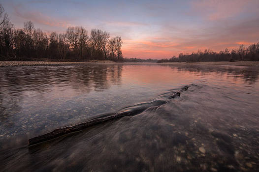 Silent river by Davorin Mance