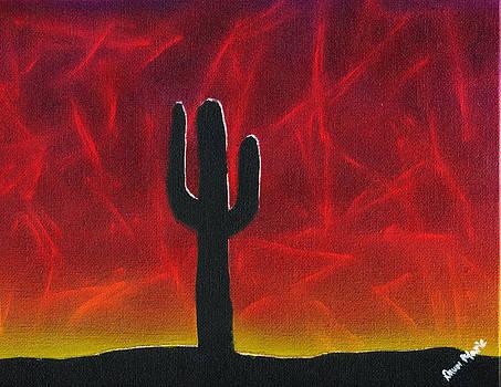 Dawn Marie Black - Silhouette Cactus