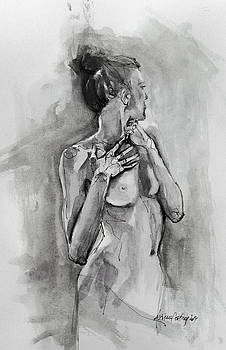 Silhouette 1 by Dorina  Costras