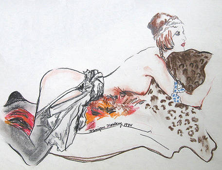 Monique Montney - Silk Stockings