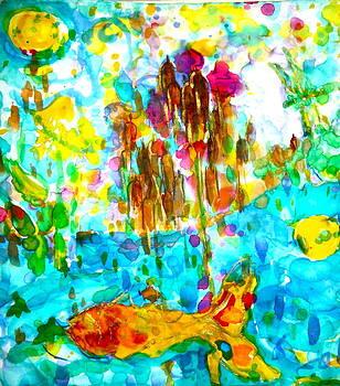Silken Pond by Phoenix Simpson