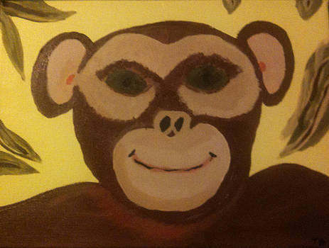 Silly Monkey by Toni  Di Nuzzo