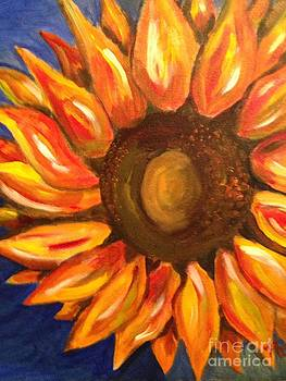 Silly Sunflower by Phyllis Norris
