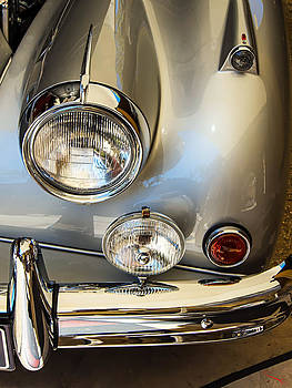 Silver Jaguar XK 140 by SM Shahrokni