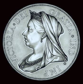 Silver Royal Queen Victoria by Fred Larucci