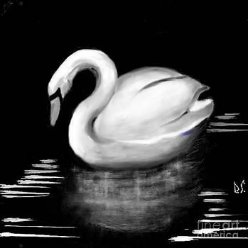 Silver Swan by Debb Starr