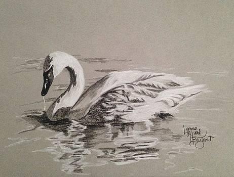 Silver Swan by Lynne Hurd Bryant