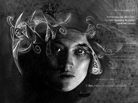 Silver Tears by Karen  Renee