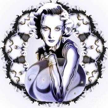 SilverScreenStar Carole Lombard by Wu Wei