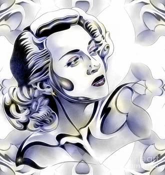 SilverScreenStar Lana Turner by Wu Wei