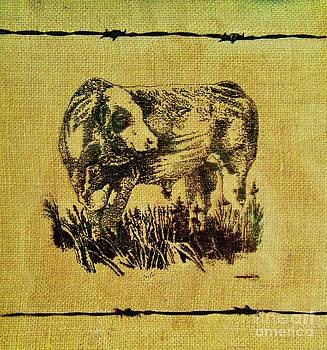 Simmental Bull 12 by Larry Campbell
