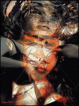 Simone Signoret by Orfeu De SantaTeresa