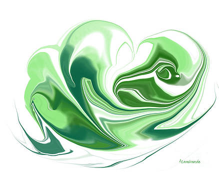 Simplicity in Green by Louise Lamirande