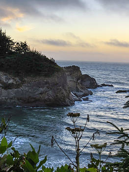 Simpson Beach Sunset by Kristal Talbot