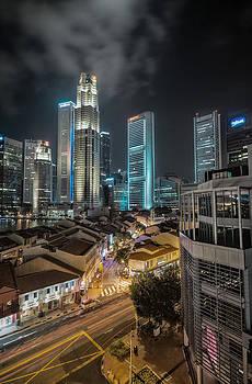 Singapore Nights by John Swartz