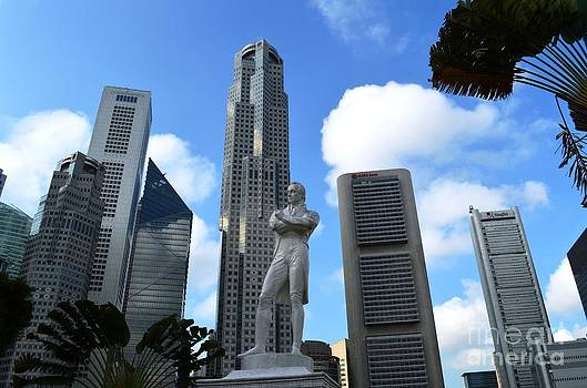 Singapores Future and Past by Greg Cross