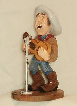 Singing Cowboy by Russell Ellingsworth