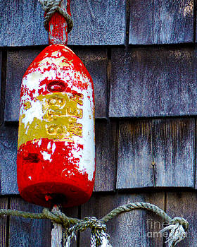 Single Buoy at Rock Harbor Cape Cod by Phil Hawn