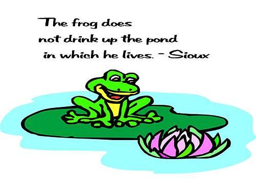 Gary Wonning - Sioux Proverb