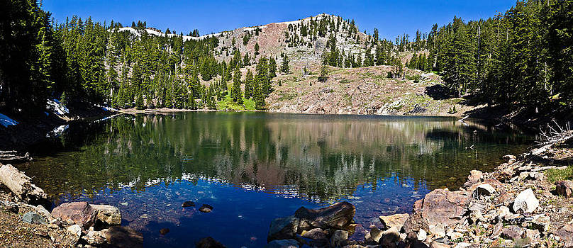 Siphon Lake Panorama by Shane Gottlieb