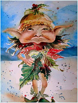Sir Kristopogin Holly Schmoozer by Mindy Newman