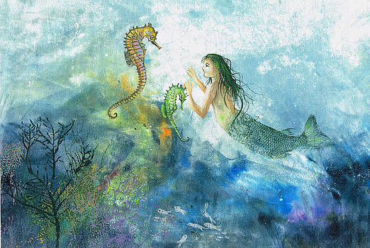 Siren Of The Sea by Nancy Gorr