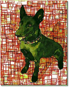 Sissy The Working Dog by Marian Hebert
