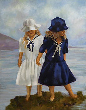 Sisters on the Shore by Megan Morris Collection