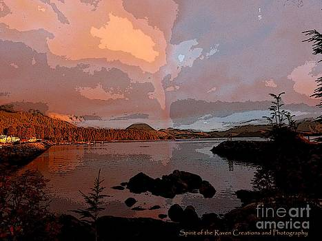 Sitka surreal by Dawna Raven Sky