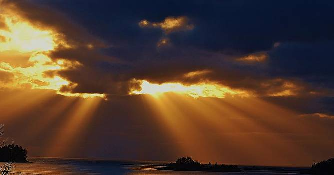 Sitka's Soft Sunset by Barbara Mundt