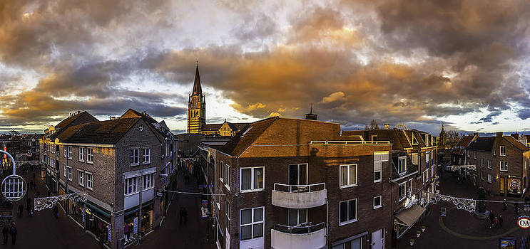Sittard Panorama View From ABC Car Park by Libor Bednarik