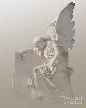 Sitting Angel by Josephine Cohn