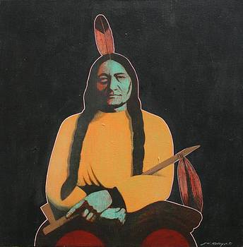 Sitting Bull by J W Kelly