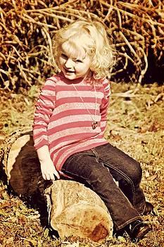 Sitting Log by Emma Sechrest