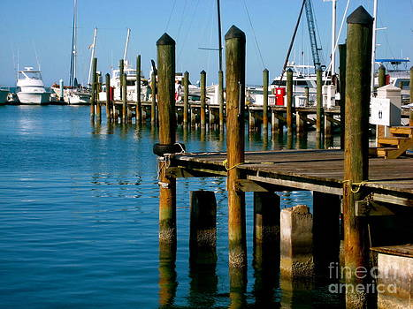 Sitting on the Dock of the Bay by Shannon Enete