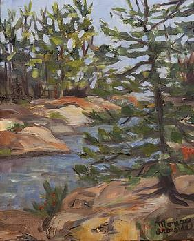 Six Mile Lake Channel by Monica Ironside