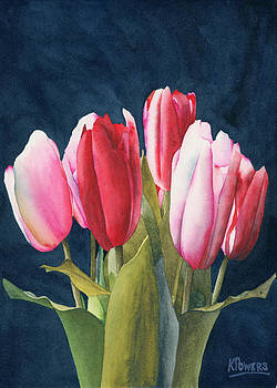 Ken Powers - Six Tulips