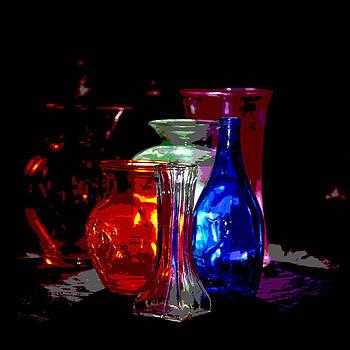 Gilbert Artiaga - Six Vase Glass Art