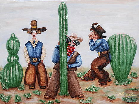 Sizing Up Your Cowboy  A Cactus Comparison by Alison  Galvan