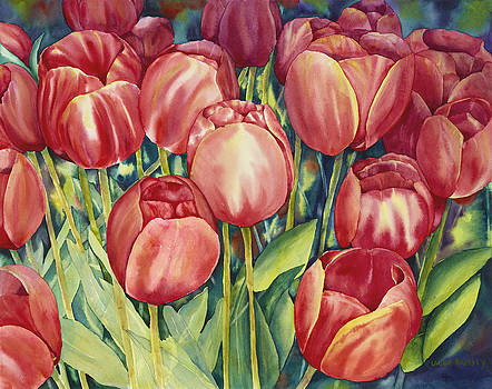 Skagit Valley Tulips by Laura Ramsey