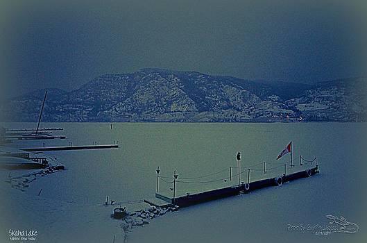 Guy Hoffman - Skaha Lake Frozen - New Snow 02-07-2014