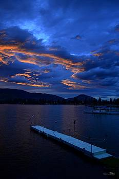 Guy Hoffman - Skaha Lake Sunset2 7-5-2014